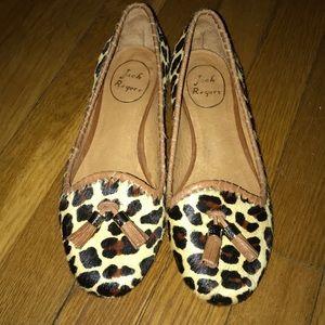 Jack Rogers Gracie Leopard Flat Size 6